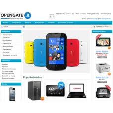 Elektroninė parduotuvė Open 1