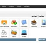 """Elektroninės parduotuvės modulis """"Prisijungę lankytojai - online"""""""