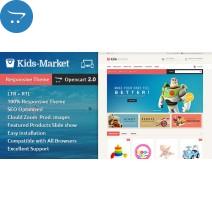 Kids Market - Opencart Responsive Theme