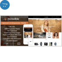 Incredible - Opencart Responsive Theme