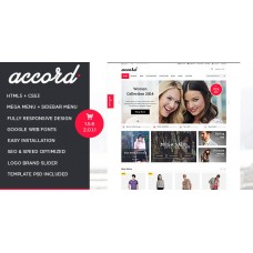 Accord - Responsive Multipurpose OpenCart Theme