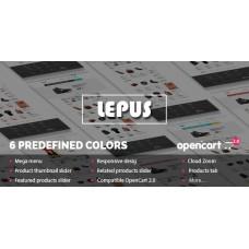 Lepus - Responsive OpenCart Theme