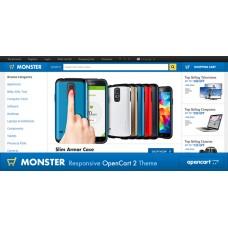 Monster Responsive OpenCart Theme