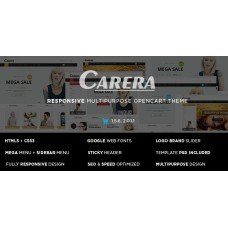 Carera - Responsive Multipurpose OpenCart Theme