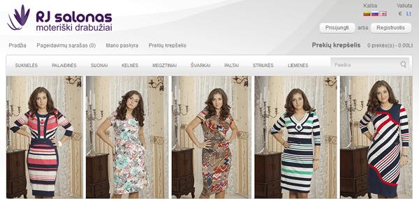 Elektroninė parduotuvė drabuziai-didmena.lt